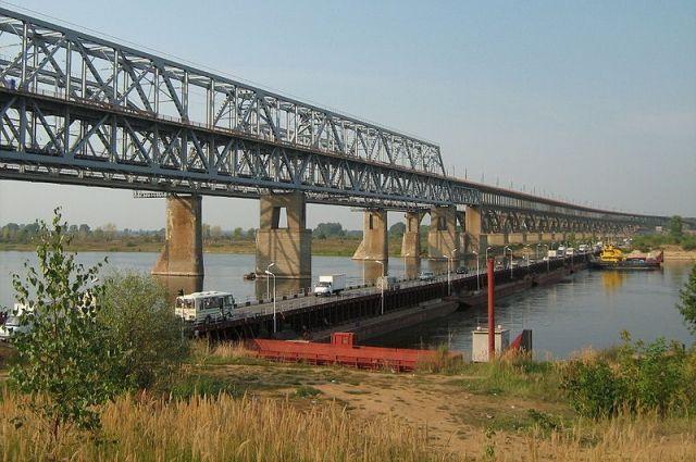Нижегородский понтонный мост