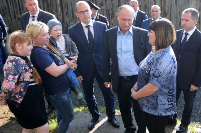 Путин поручил главе Удмуртии переселить до конца года 11 ижевских семей