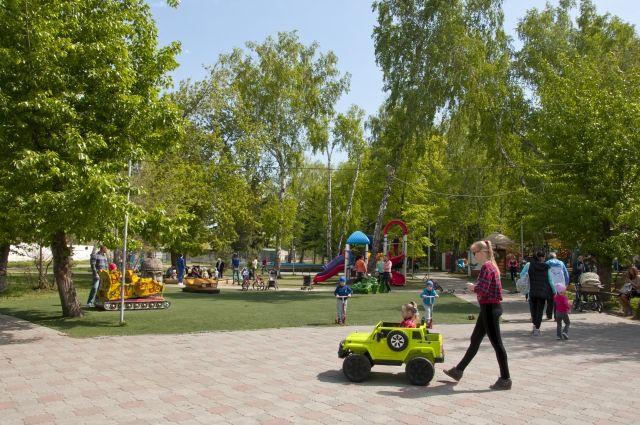 В парке реализуется проект «Открытия библиосреда»