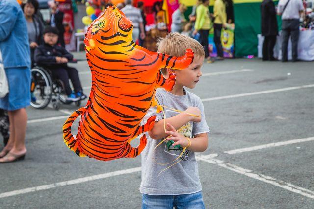 День тигра - один из самых любимых праздников в Приморье.