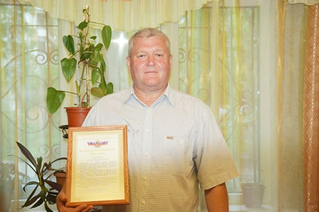 Старший прапорщик Александр Функ