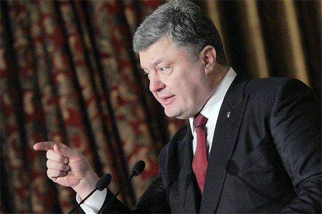 Порошенко рассчитывает, что Рада отменит депутатскую неприкосновенность