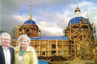 Игорь и Наталья Завершинские верят, что все вместе они смогут восстановить храм.