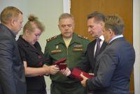 Награжден посмертно за мужество, отвагу и самоотверженность, проявленные при исполнении воинского долга.