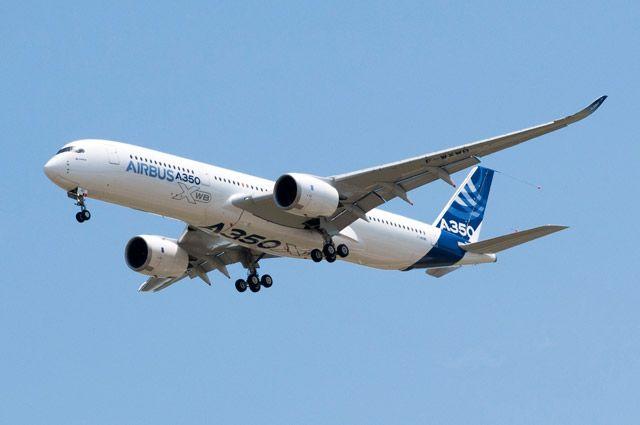 Что из себя представляет самолет Airbus A350?