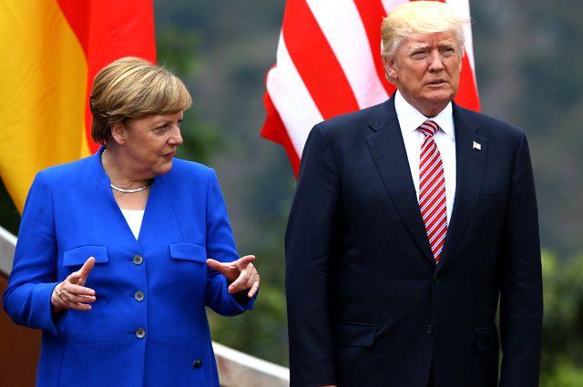 Меркель хочет к Трампу. Договорятся ли США с ЕС о зоне свободной торговли