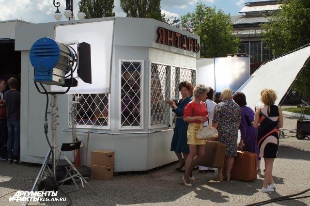Сейчас в Калининграде проходят съемки фильма «Желтый глаз тигра».
