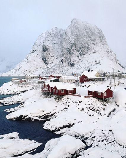 1 место в категории «Путешествия» — Рыбацкие домики в Норвегии.