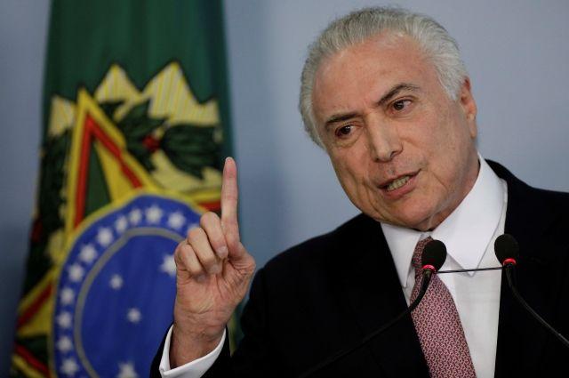 СМИ проинформировали оботмене визита президента Бразилии насаммит G20
