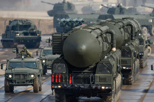 ТПУ межконтинентальных баллистических ракет «Тополь-М».
