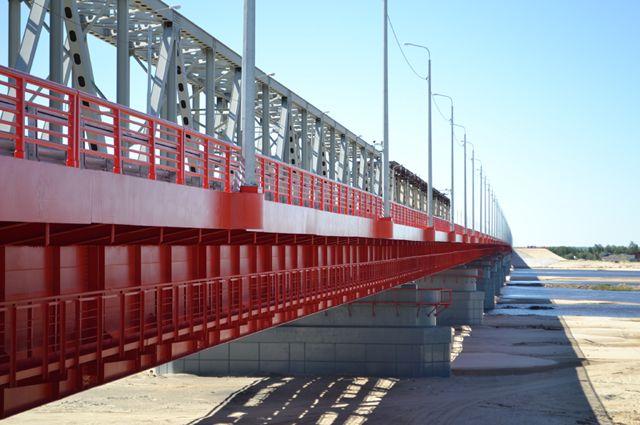 Мост через реку Надым.
