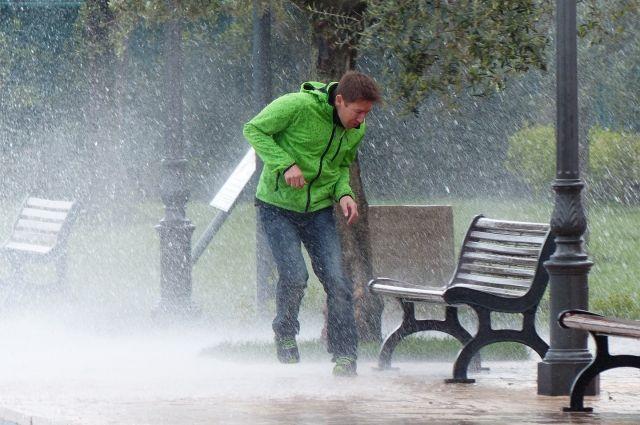 Дожди пройдут не во всех районах.