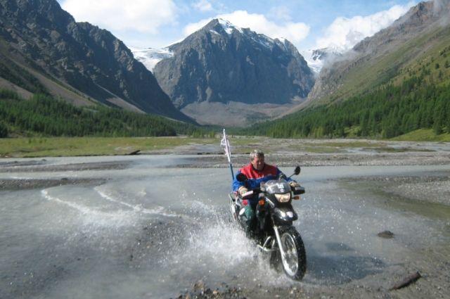 Виктор Пантыкин впервые сел за руль мотоцикла в 15 лет.