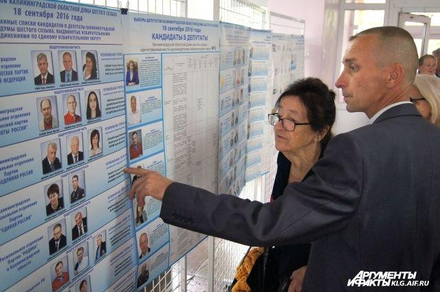 Определились все кандидаты на пост губернатора Калининградской области.