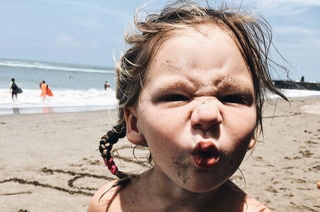 Жюри отметило фото с дочкой трехлетней дочкой Варвары - Олей.