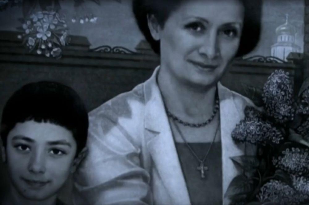 Костя Калоев, 11 лет, и его мама Светлана Калоева.