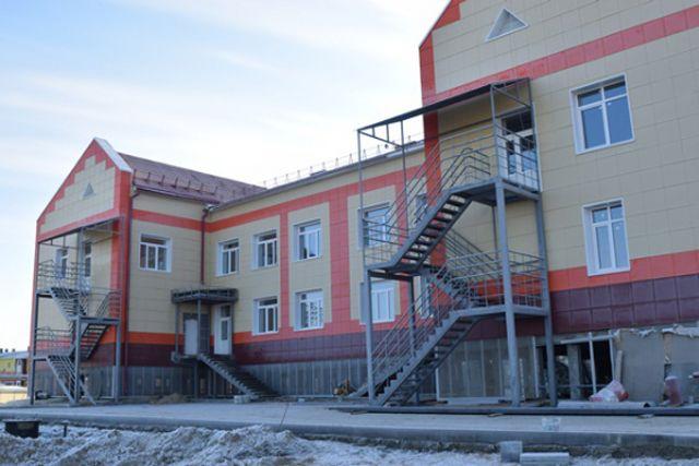 Детский сад в Тазовском районе.