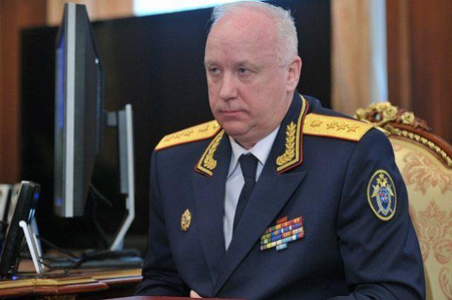 Председатель СКР, генерал юстиции Александр Бастрыкин.