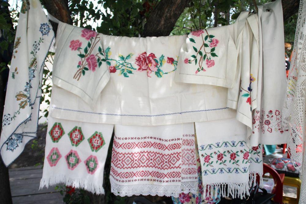 Сабантуй – это всегда интересные встречи и демонстрация умений народных мастеров.