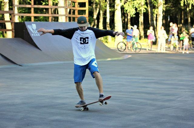 Площадка для скейтеров появится в одном из парков города