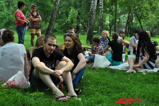 Парк «На Королёва» становится любимым местом омичей.