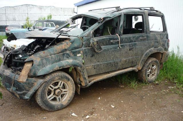 ВУдмуртии вДТП умер 36-летний пассажир УАЗа