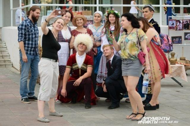 Оренбуржцы отметили День молодежи