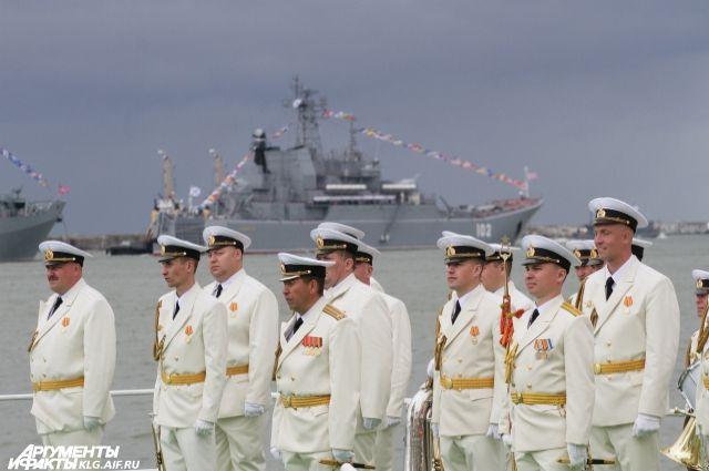На Балтийском флоте начали готовиться ко Дню ВМФ.