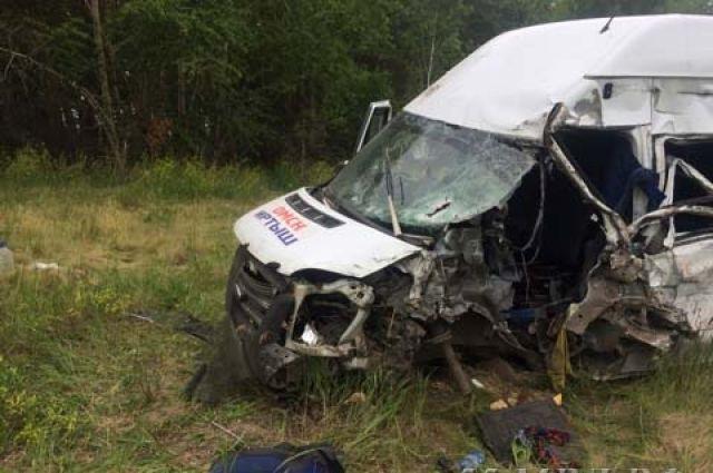 Авария унесла жизни двух пассажиров ещё двое в больнице