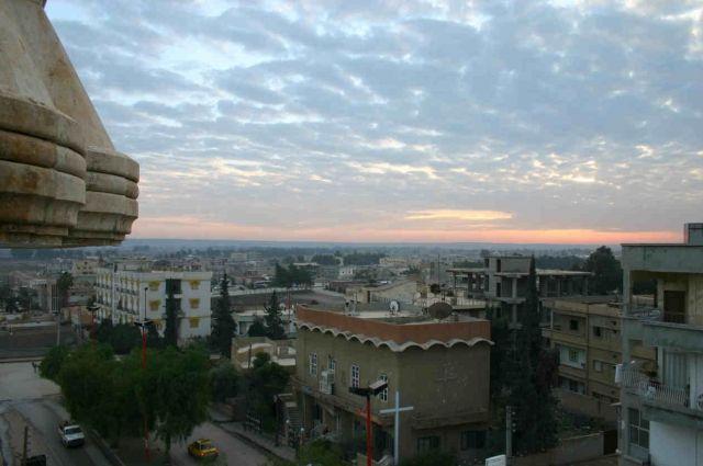 Курдские отряды прорвались встарый город Ракки