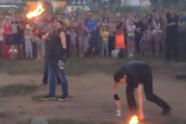 Региональный следком проверит инцидент с файер-шоу в Кемерове.