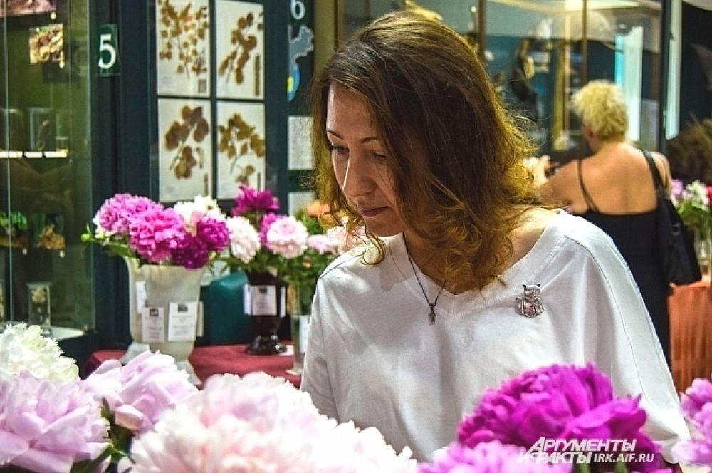 Выставки пионов традиционно вызывают большой интерес у жителей Иркутска.