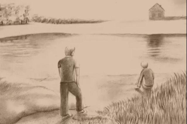 Кадр из фильма «Водомерка».