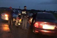 Сотрудниками полиции проверено 45 автотранспортных средств.