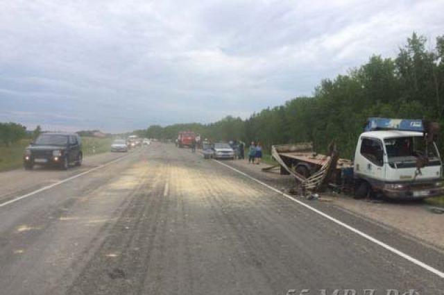 В ДТП погибли двое жителей Омской области.