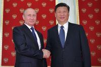 Президент РФВладимир Путин ипредседатель Китайской Народной Республики СиЦзиньпин.