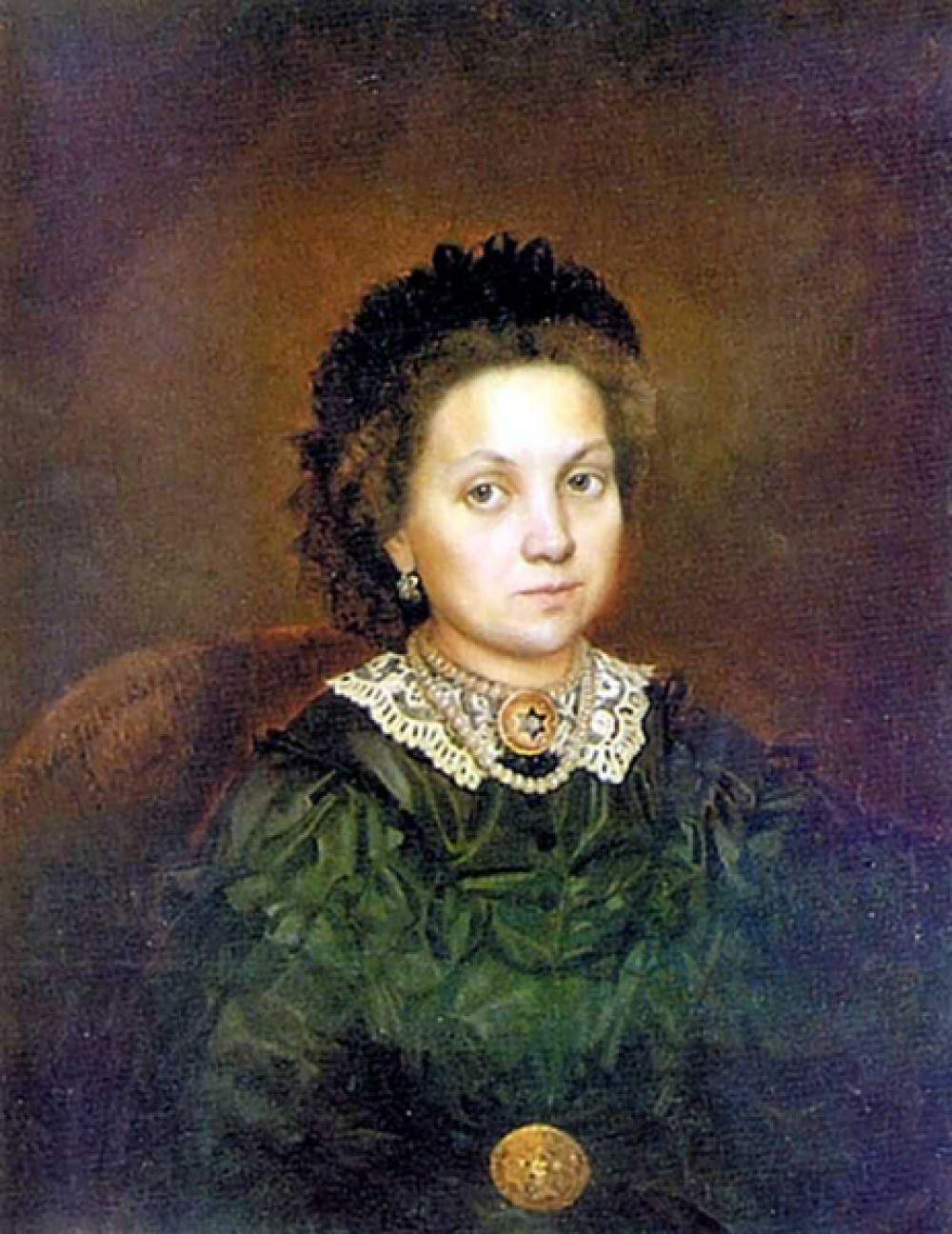 «Портрет М. А. Григорьевой», 1862 год.