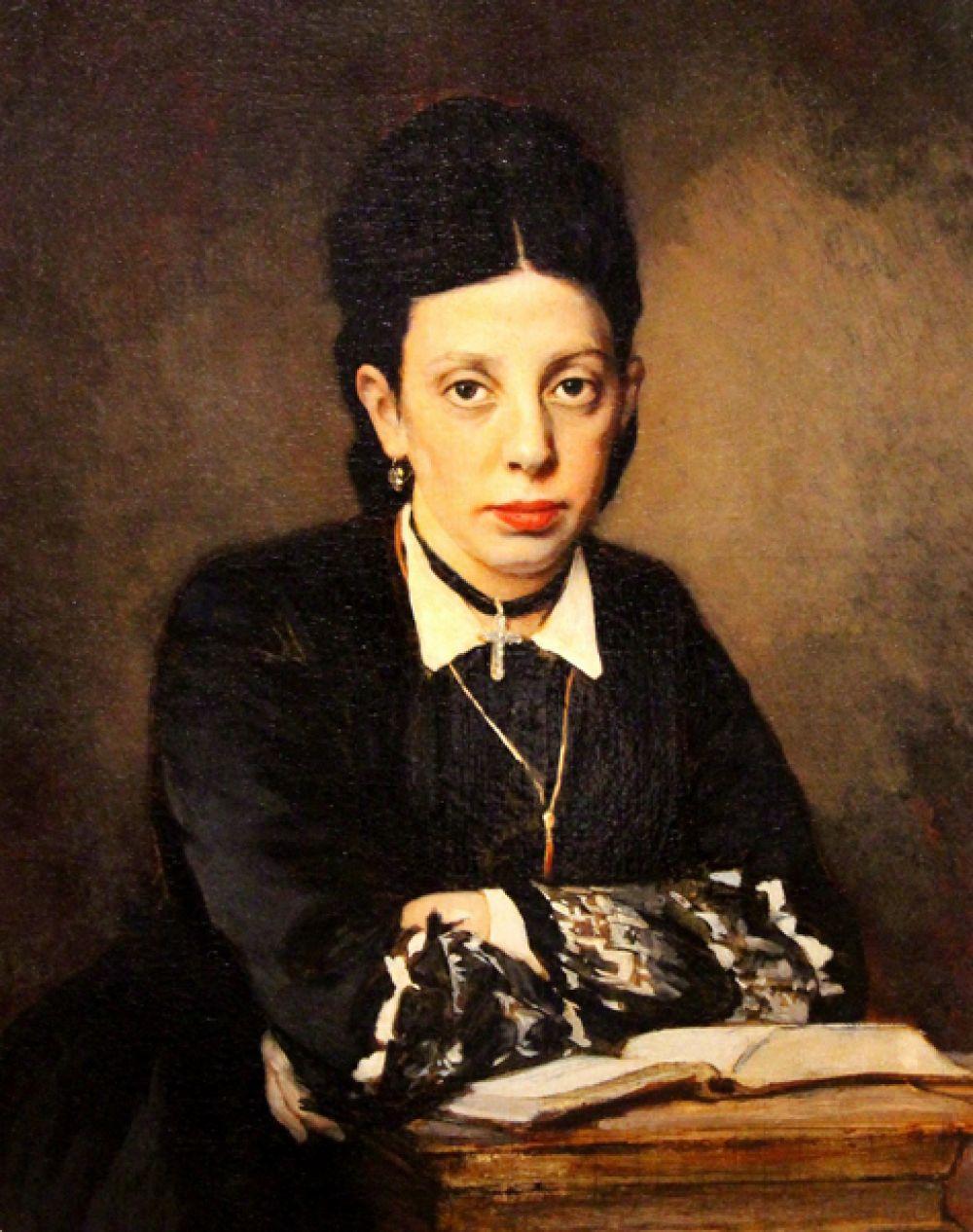 «Женский портрет», 1872 год.