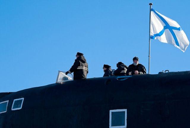 Атомная субмарина «Смоленск» запустила крылатую ракету вБаренцевом море