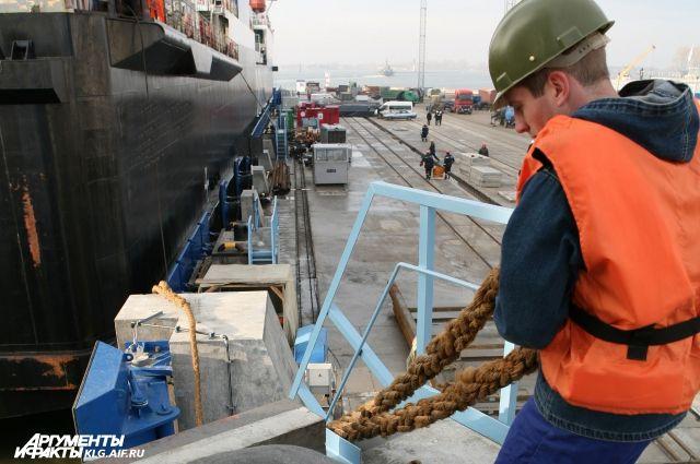 Эксперты рассказали о токсичности груза в порту Калининграда.