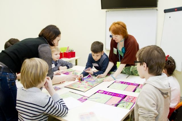 Финансовая игра «Семейный бюджет» в «Школе будущего банкира»
