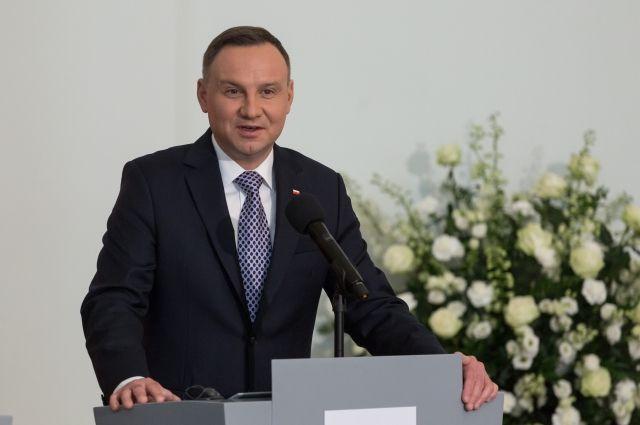 Президент Польши выразил надежду наувеличение американского контингента вгосударстве