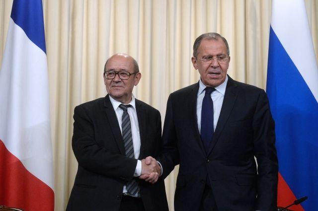 Руководитель МИД РФ 6июля отправится вПариж срабочим визитом