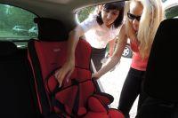 Красноярцы, чьи дети выросли, и кому автокресла больше не нужны, могут отдать их в пункт бесплатного автопроката.