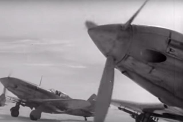 Американский истребитель времен ВОВ поднимут содна озера под Мурманском