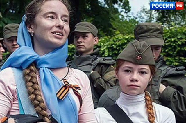Наталья Кудуева и её дочь Настя.