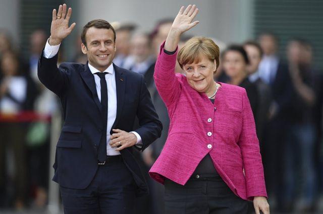 Меркель рассчитывает напрочные контакты между Путиным иТрампом