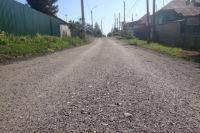 В Кемерове продолжаются работы на дорогах частного сектора.