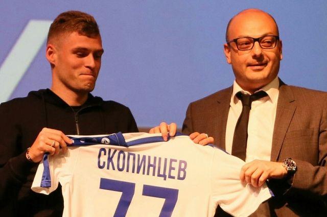 Дмитрий Скопинцев продолжит выступление за ФК «Балтика».