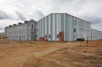 Новое здание школы на Бору возвели меньше чем за год.